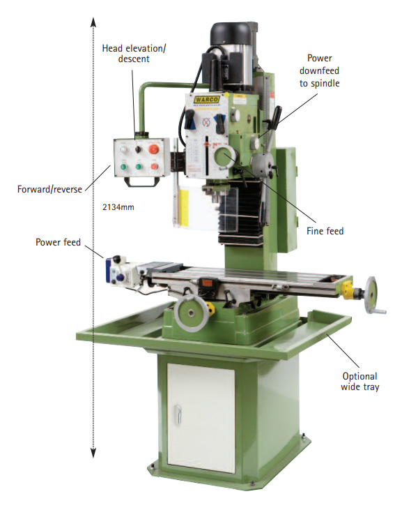 Warco Super Major Milling Machine